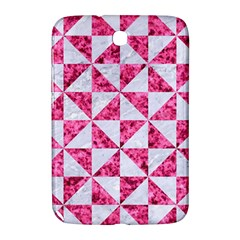 Triangle1 White Marble & Pink Marble Samsung Galaxy Note 8 0 N5100 Hardshell Case  by trendistuff