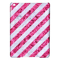 Stripes3 White Marble & Pink Marble (r) Ipad Air Hardshell Cases by trendistuff