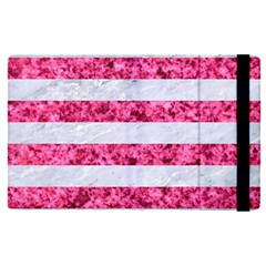 Stripes2white Marble & Pink Marble Apple Ipad Pro 9 7   Flip Case by trendistuff