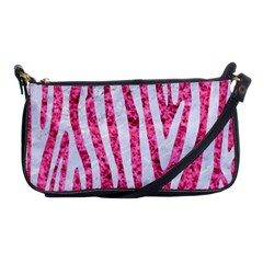 Skin4 White Marble & Pink Marble (r) Shoulder Clutch Bags by trendistuff