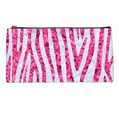 Skin4 White Marble & Pink Marble Pencil Cases by trendistuff