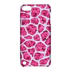 Skin1 White Marble & Pink Marble (r) Apple Ipod Touch 5 Hardshell Case With Stand by trendistuff