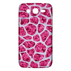 Skin1 White Marble & Pink Marble (r) Samsung Galaxy Mega 5 8 I9152 Hardshell Case  by trendistuff