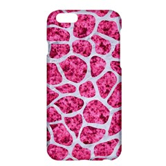 Skin1 White Marble & Pink Marble (r) Apple Iphone 6 Plus/6s Plus Hardshell Case by trendistuff