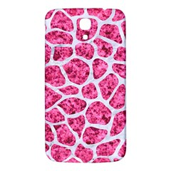 Skin1 White Marble & Pink Marble (r) Samsung Galaxy Mega I9200 Hardshell Back Case by trendistuff