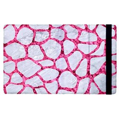 Skin1 White Marble & Pink Marble Apple Ipad Pro 9 7   Flip Case by trendistuff