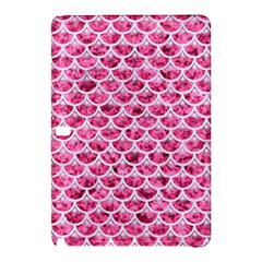Scales3 White Marble & Pink Marble Samsung Galaxy Tab Pro 12 2 Hardshell Case by trendistuff