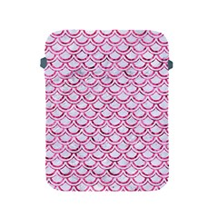 Scales2 White Marble & Pink Marble (r) Apple Ipad 2/3/4 Protective Soft Cases by trendistuff