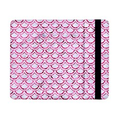 Scales2 White Marble & Pink Marble (r) Samsung Galaxy Tab Pro 8 4  Flip Case by trendistuff