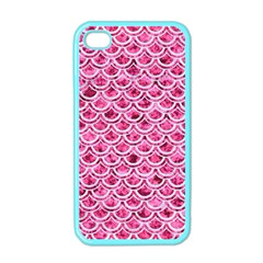 Scales2 White Marble & Pink Marble Apple Iphone 4 Case (color)