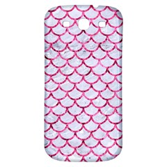 Scales1 White Marble & Pink Marble (r) Samsung Galaxy S3 S Iii Classic Hardshell Back Case by trendistuff