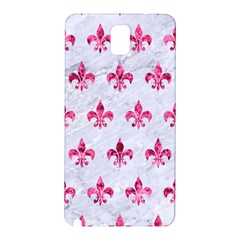 Royal1 White Marble & Pink Marble Samsung Galaxy Note 3 N9005 Hardshell Back Case by trendistuff