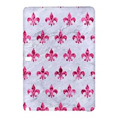 Royal1 White Marble & Pink Marble Samsung Galaxy Tab Pro 12 2 Hardshell Case by trendistuff