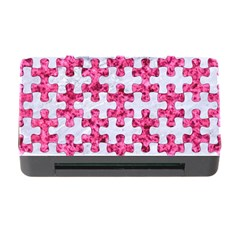 Puzzle1 White Marble & Pink Marble Memory Card Reader With Cf by trendistuff