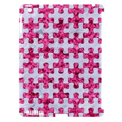 Puzzle1 White Marble & Pink Marble Apple Ipad 3/4 Hardshell Case (compatible With Smart Cover) by trendistuff