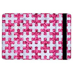 Puzzle1 White Marble & Pink Marble Ipad Air Flip by trendistuff