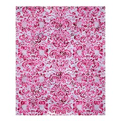 Damask2 White Marble & Pink Marble (r) Shower Curtain 60  X 72  (medium)  by trendistuff