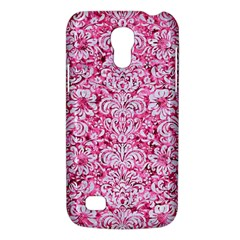 Damask2 White Marble & Pink Marble Galaxy S4 Mini by trendistuff