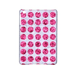 Circles1 White Marble & Pink Marble (r) Ipad Mini 2 Hardshell Cases