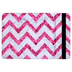 Chevron9 White Marble & Pink Marble (r) Ipad Air 2 Flip by trendistuff