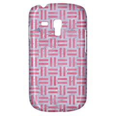 Woven1 White Marble & Pink Watercolor (r) Galaxy S3 Mini by trendistuff