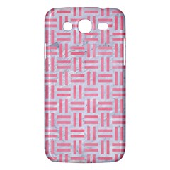 Woven1 White Marble & Pink Watercolor (r) Samsung Galaxy Mega 5 8 I9152 Hardshell Case  by trendistuff