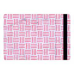 Woven1 White Marble & Pink Watercolor (r) Apple Ipad Pro 10 5   Flip Case by trendistuff