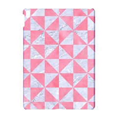 Triangle1 White Marble & Pink Watercolor Apple Ipad Pro 10 5   Hardshell Case by trendistuff