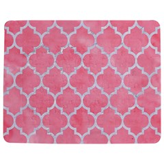 Tile1 White Marble & Pink Watercolor Jigsaw Puzzle Photo Stand (rectangular)