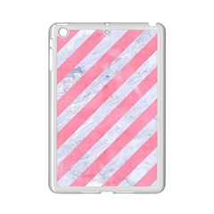 Stripes3 White Marble & Pink Watercolor (r) Ipad Mini 2 Enamel Coated Cases by trendistuff