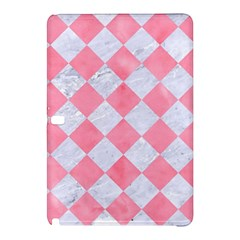Square2 White Marble & Pink Watercolor Samsung Galaxy Tab Pro 12 2 Hardshell Case by trendistuff