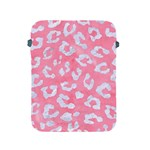 SKIN5 WHITE MARBLE & PINK WATERCOLOR (R) Apple iPad 2/3/4 Protective Soft Cases Front