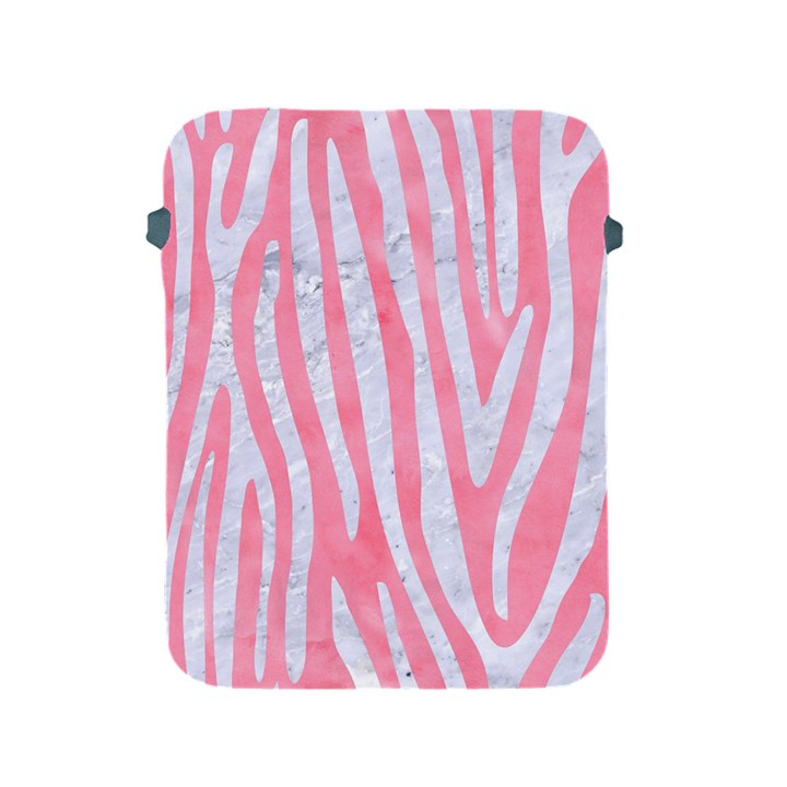 SKIN4 WHITE MARBLE & PINK WATERCOLOR (R) Apple iPad 2/3/4 Protective Soft Cases