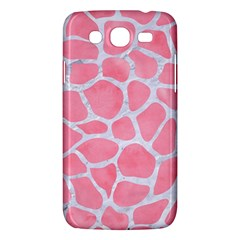 Skin1 White Marble & Pink Watercolor (r) Samsung Galaxy Mega 5 8 I9152 Hardshell Case  by trendistuff