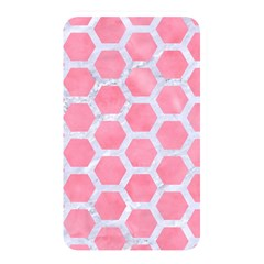 HEXAGON2 WHITE MARBLE & PINK WATERCOLOR Memory Card Reader
