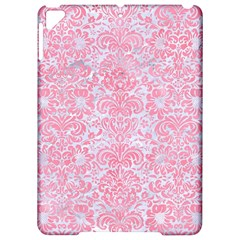Damask2 White Marble & Pink Watercolor (r) Apple Ipad Pro 9 7   Hardshell Case by trendistuff
