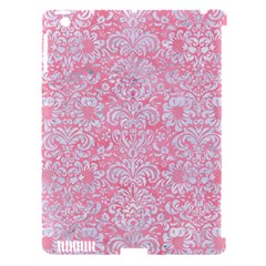 Damask2 White Marble & Pink Watercolor Apple Ipad 3/4 Hardshell Case (compatible With Smart Cover) by trendistuff