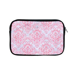 Damask1 White Marble & Pink Watercolor (r) Apple Macbook Pro 13  Zipper Case by trendistuff