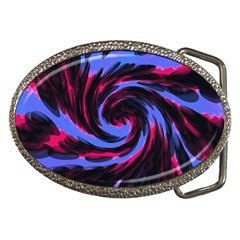 Swirl Black Blue Pink Belt Buckles by BrightVibesDesign