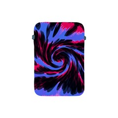 Swirl Black Blue Pink Apple Ipad Mini Protective Soft Cases by BrightVibesDesign