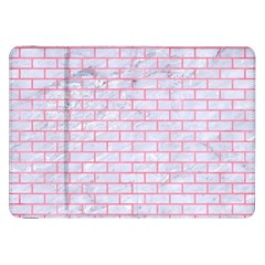 Brick1 White Marble & Pink Watercolor (r) Samsung Galaxy Tab 8 9  P7300 Flip Case by trendistuff