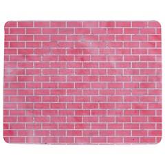 Brick1 White Marble & Pink Watercolor Jigsaw Puzzle Photo Stand (rectangular) by trendistuff