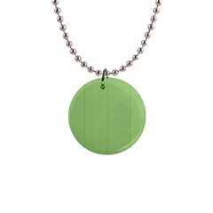 Mod Twist Stripes Green And White Button Necklaces by BrightVibesDesign