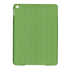 Mod Twist Stripes Green And White Ipad Air 2 Hardshell Cases by BrightVibesDesign