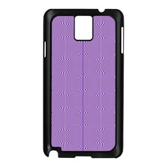 Mod Twist Stripes Purple And White Samsung Galaxy Note 3 N9005 Case (black) by BrightVibesDesign