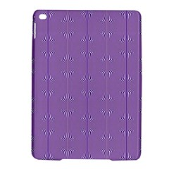 Mod Twist Stripes Purple And White Ipad Air 2 Hardshell Cases by BrightVibesDesign