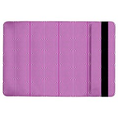 Mod Twist Stripes Pink And White Ipad Air 2 Flip by BrightVibesDesign