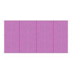 Mod Twist Stripes Pink And White Satin Wrap by BrightVibesDesign