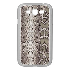 Snake Skin Samsung Galaxy Grand Duos I9082 Case (white) by LoolyElzayat