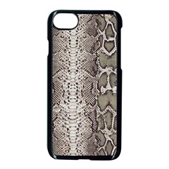 Snake Skin Apple Iphone 7 Seamless Case (black) by LoolyElzayat